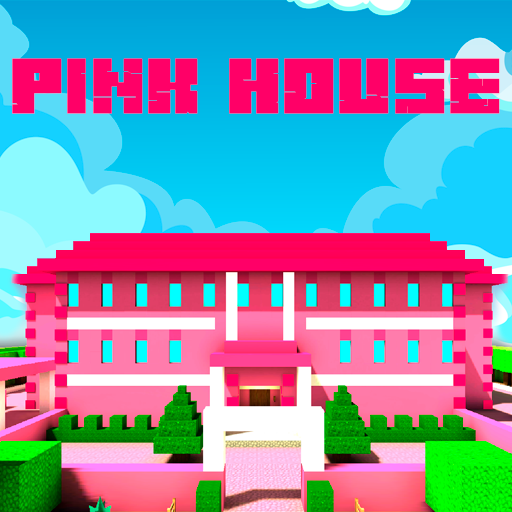 Pink Princess House Craft Game 2.7 (Unlimited money,Mod) for Android