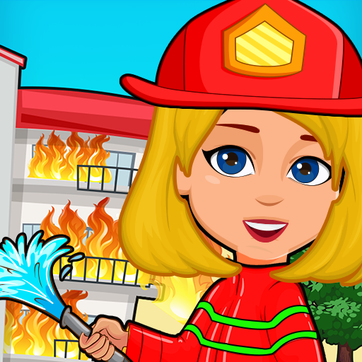 Pretend Play My Firestation Town  : Rescue Fireman 1.1.11 (Unlimited money,Mod) for Android