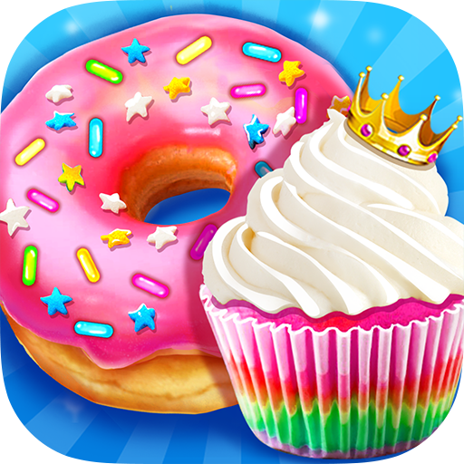 Rainbow Princess Bakery – Make Cupcake & Donut 1.4 (Unlimited money,Mod) for Android