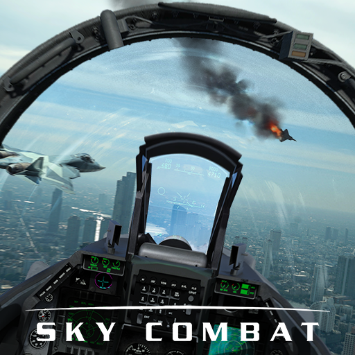 Sky Combat: war planes online simulator PVP 4.2 (Unlimited money,Mod) for Android