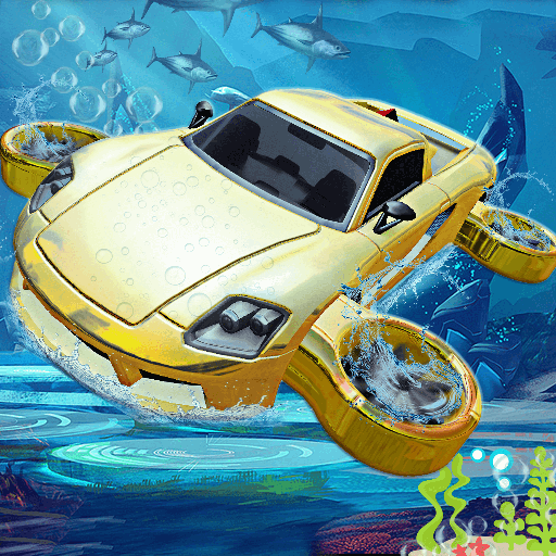 Underwater Flying Car Game 1.0.2 (Unlimited money,Mod) for Android