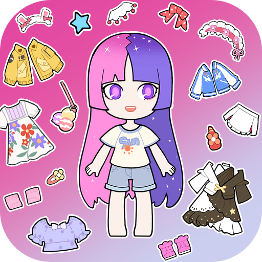 Vlinder Gacha:Stylish Dressup Games  1.2.8 (Unlimited money,Mod) for Android