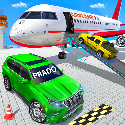 Airplane Car Parking Game: Prado Car Driving Games 2.3 (Unlimited money,Mod) for Android