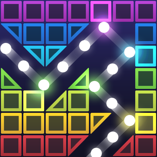 Bricks Breaker Hit – Glow Balls 1.0.10.1 (Unlimited money,Mod) for Android