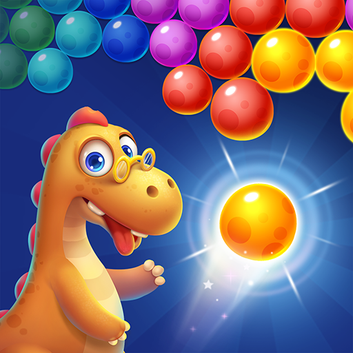 Bubble Shooter Primitive Dinosaurs – Egg Shoot  1.10 (Unlimited money,Mod) for Android