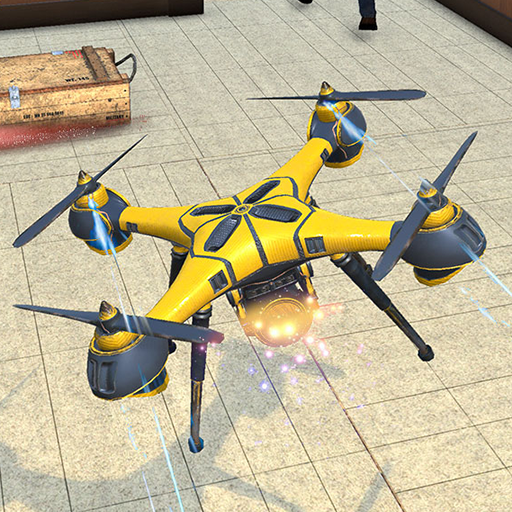 Drone Attack Flight Game 2020-New Spy Drone Games 1.5 (Unlimited money,Mod) for Android