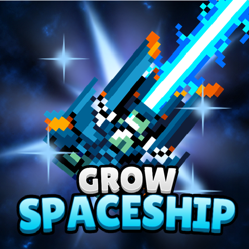 Grow Spaceship – Galaxy Battle  5.5.2 (Unlimited money,Mod) for Android