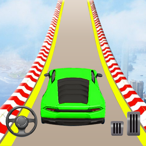 Mega Ramp Car Stunts: Crazy Car Racing Game 5.4 (Unlimited money,Mod) for Android