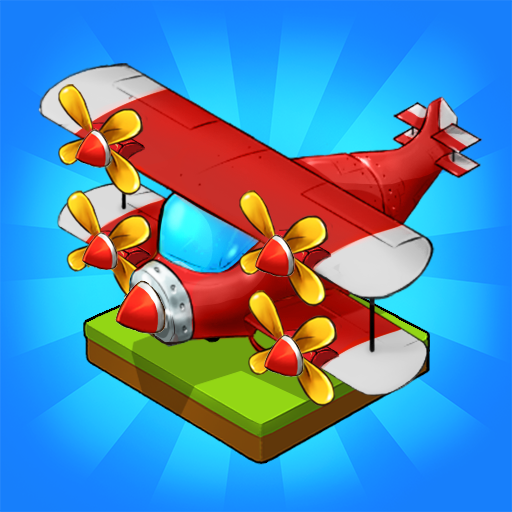 Merge Airplane Cute Plane Merger  2.3.8 (Unlimited money,Mod) for Android