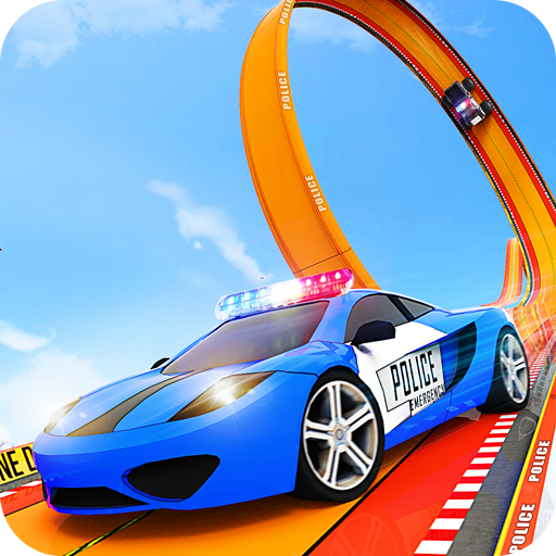Police Ramp Car Stunts GT Racing Car Stunts Game  4.3 (Unlimited money,Mod) for Android
