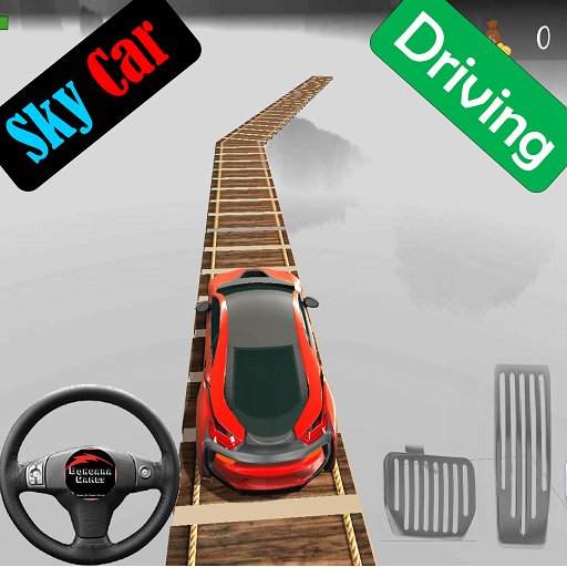 Sky Car Driving Stunt Impossible Track 1.10 (Unlimited money,Mod) for Android