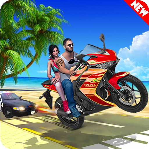 Theft Bike Drift Racing 1.9 (Unlimited money,Mod) for Android