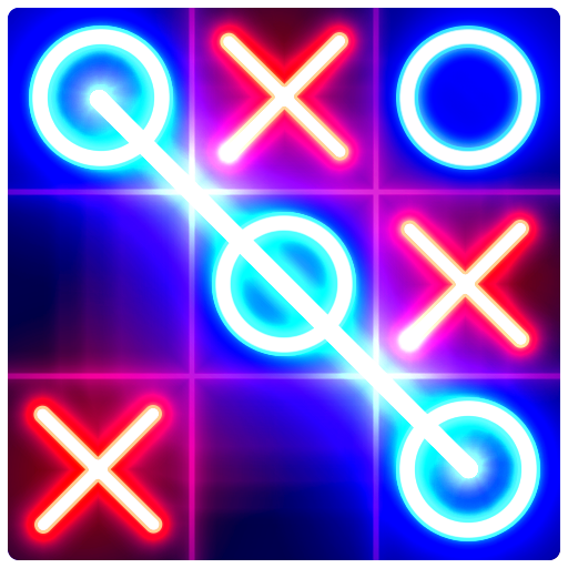 Tic Tac Toe Glow 1.3 (Unlimited money,Mod) for Android