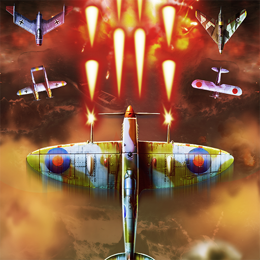 Top Fighter WWII airplane Shooter  30 (Unlimited money,Mod) for Android