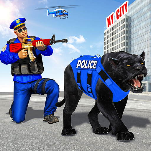 US Police Panther City War: Gangster Crime Games 1.4 (Unlimited money,Mod) for Android