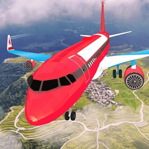 Airplane Flight Simulator Free Offline Games  (Unlimited money,Mod) for Android