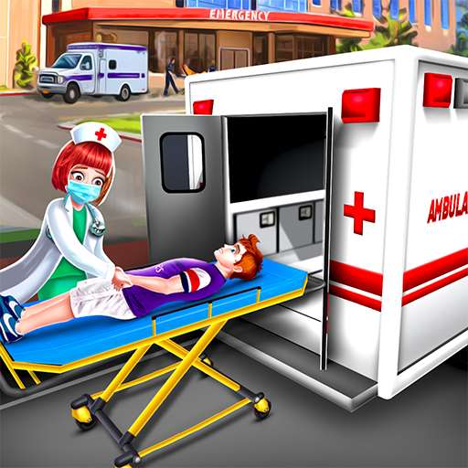 Ambulance Doctor Hospital – Rescue Game  (Unlimited money,Mod) for Android