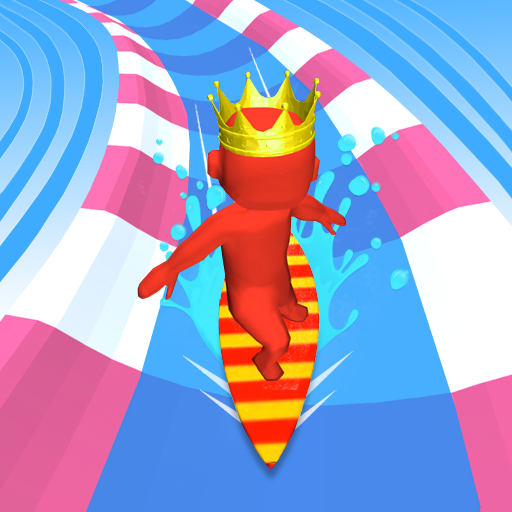 Aqua Path Slide Water Park Race 3D Game  (Unlimited money,Mod) for Android