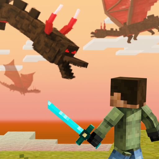 Battle Craft – 3D Pixel World  (Unlimited money,Mod) for Android