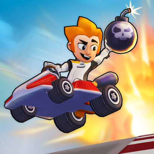 Boom Karts Multiplayer Kart Racing 1.4.1.2 (Unlimited money,Mod) for Android