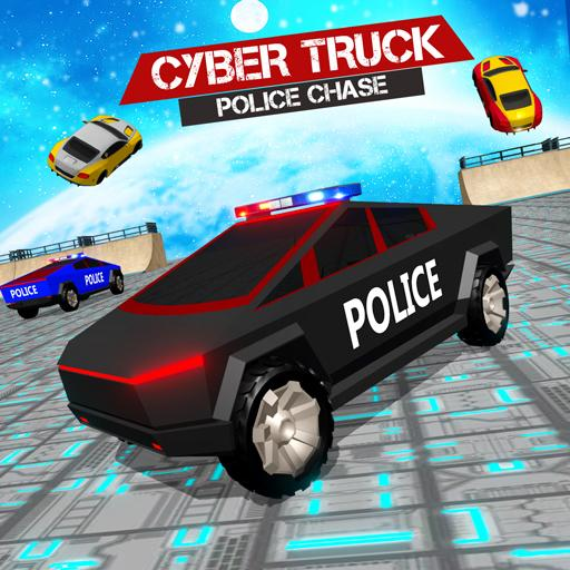 Border Patrol Cyber Truck Police Chase: Cop Games  (Unlimited money,Mod) for Android