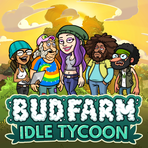 Bud Farm: Idle Tycoon – Build Your Weed Farm  (Unlimited money,Mod) for Android