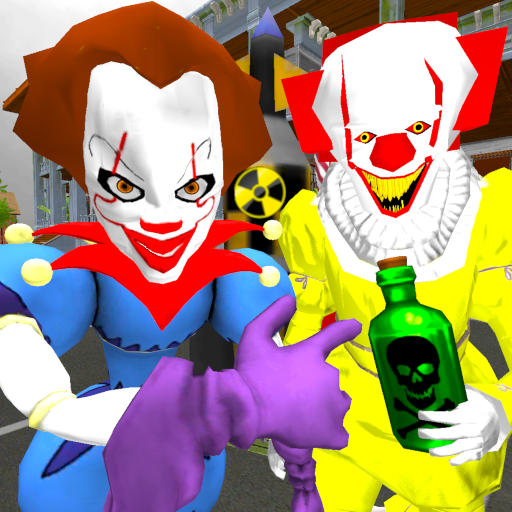 Clown Brothers. Neighbor Escape 3D  1.5 (Unlimited money,Mod) for Android