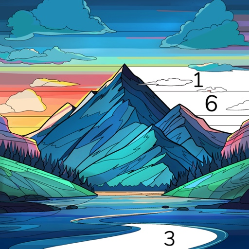 Color Flow Color by Number. Coloring games  1.12.1 (Unlimited money,Mod) for Android