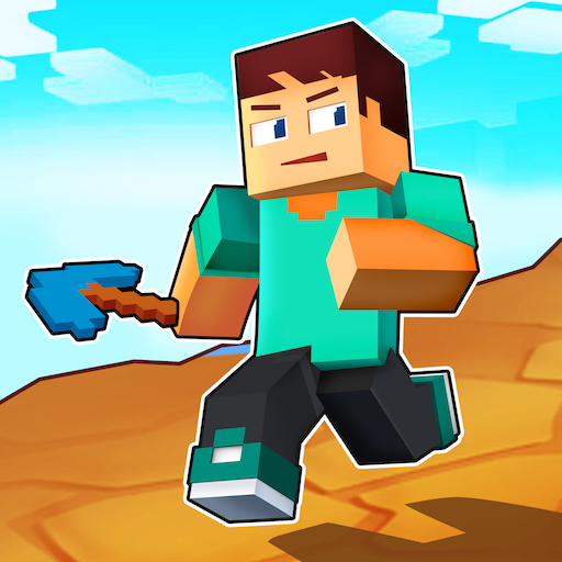 Craft Runner Miner Rush: Building and Crafting  0.0.16 (Unlimited money,Mod) for Android