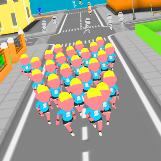 Crowd Run 3D : Multiplayer (Unlimited money,Mod) for Android