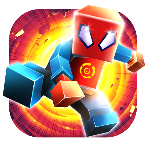 CubeCraft Super Spider Jump  (Unlimited money,Mod) for Android