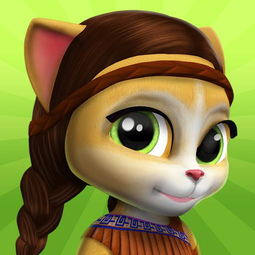 Emma the Cat – My Talking Virtual Pet  (Unlimited money,Mod) for Android