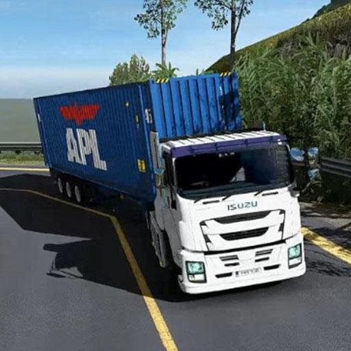 Euro intercity Transport Truck Similator 2021  (Unlimited money,Mod) for Android