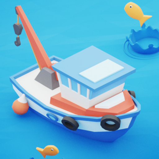 Fish idle: hooked tycoon. Fishing boat, hooking (Unlimited money,Mod) for Android