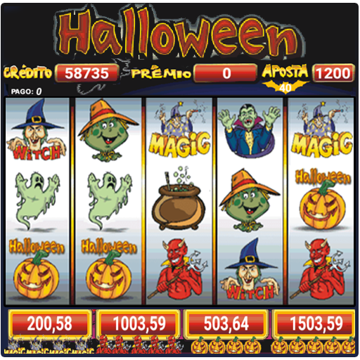 Halloween Slots 30 Linhas Multi Jogos  (Unlimited money,Mod) for Android