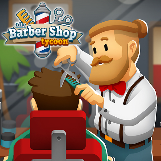 Idle Barber Shop Tycoon – Business Management Game  (Unlimited money,Mod) for Android