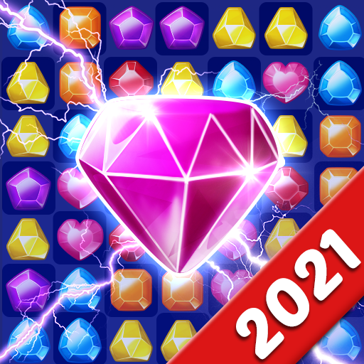 Jewels Crush Legend- Diamond & Gems Free Match 3 1.0.5 (Unlimited money,Mod) for Android