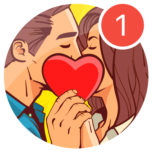 Kiss Me Spin the Bottle for Dating, Chat & Meet  1.0.47 (Unlimited money,Mod) for Android