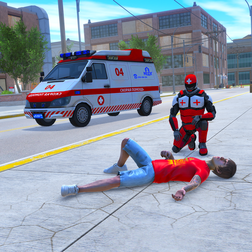 Light Speed Hero Rescue Mission: City Ambulance 1.0.4 (Unlimited money,Mod) for Android