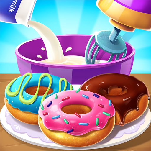 🍩🍩Make Donut – Interesting Cooking Game 5.6.5052 (Unlimited money,Mod) for Android