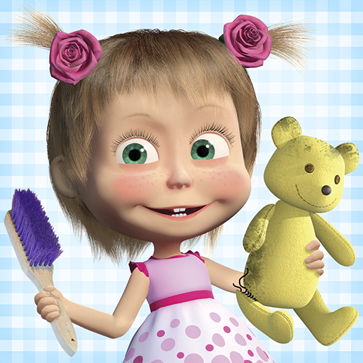Masha and the Bear: House Cleaning Games for Girls 2.0.0 (Unlimited money,Mod) for Android