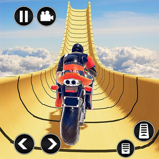 Mega Ramp Impossible Tracks Stunt Bike Rider Games 3.2 (Unlimited money,Mod) for Android