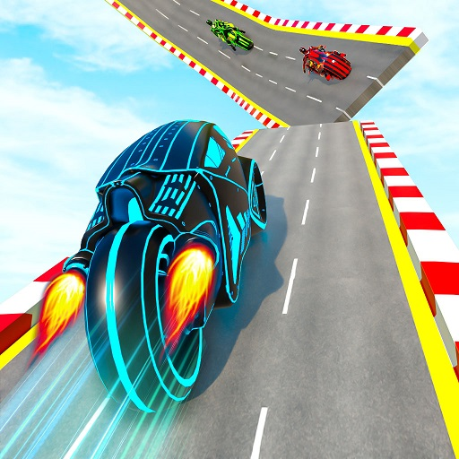Light Bike Stunt GT Race Game  7.5 (Unlimited money,Mod) for Android