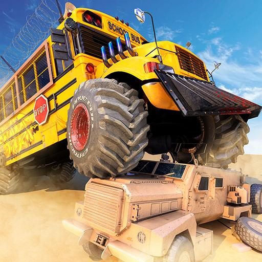 Monster Bus Derby – Bus Demolition Derby 2021  (Unlimited money,Mod) for Android