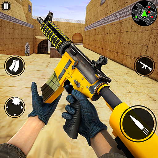 New Counter Terrorist Gun Shooting Game  (Unlimited money,Mod) for Android
