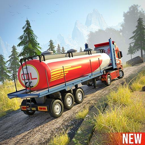 Offroad Oil Tanker Truck Simulator: Driving Games  (Unlimited money,Mod) for Android