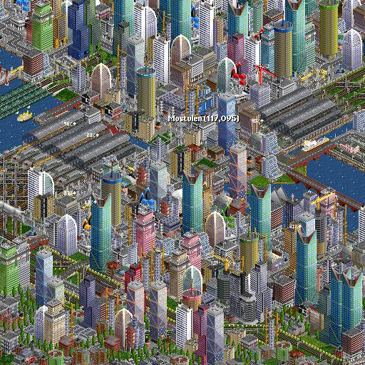 OpenTTD  (Unlimited money,Mod) for Android