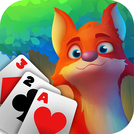 Rescue Forest Solitaire Adventure TriPeaks Card  (Unlimited money,Mod) for Android