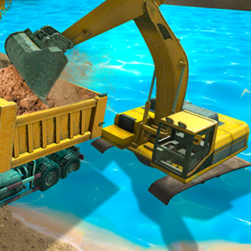 River Sand Excavator Simulator 3D 3.2 (Unlimited money,Mod) for Android