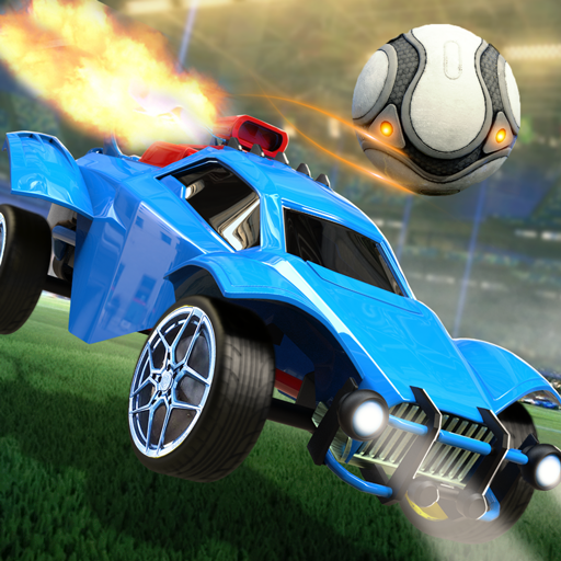 Rocket Car Ball League – 3D Car Soccer Game (Unlimited money,Mod) for Android